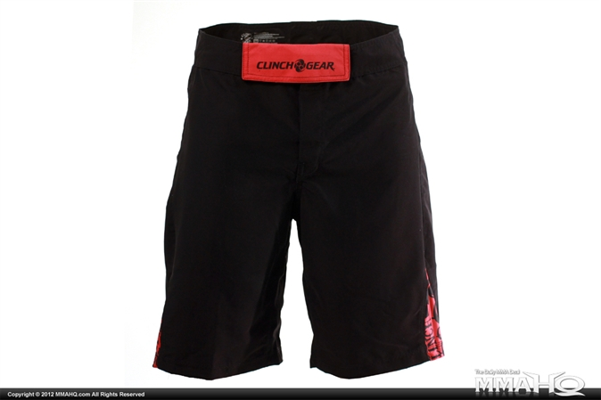 Clinch Gear Crossover 2 Lift Black MMA Shorts